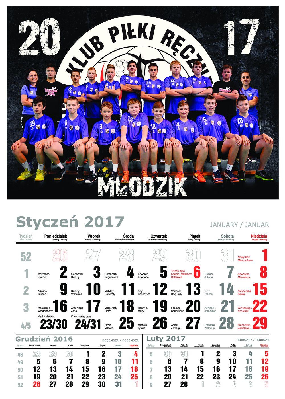 kalendarz mlodzik